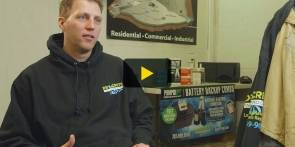 Play video of Jason Kaye, owner of Drycrete Waterproofing
