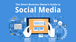 Cover design for The smart business owner's guide to social media