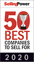 Selling Power 50 Best Companies to Sell For 2020