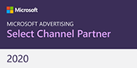 Microsoft Advertising Select Channel Partner official badge