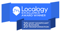 Localogy Execellence Award Winner 2020